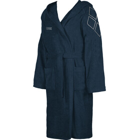 arena Zodiaco Bathrobe navy/metallic-silver